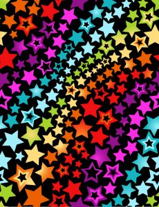 خلفيات فكتور نجوم  Glitter trail stars backgrounds Stock Photo 06