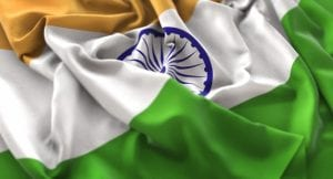 خلفيات فكتور علم هندى مموج جميل  India Flag Ruffled Beautifully Waving Macro Close-Up Shot Free Photo