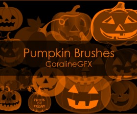 Pumpkin Photoshop Brushes