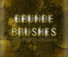 Grunge Wall Brushes Photoshop Brushes