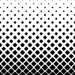 Monochrome square pattern background – geometric vector illustration Free Vector