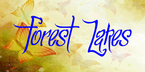 Forest Lakes font