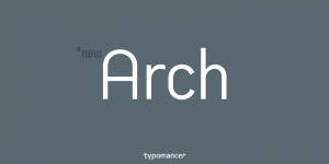 Arch Font Family