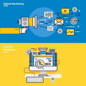 Infographic elements about email online marketing Free Vector