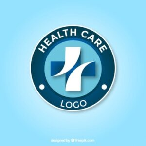 Health care cross logo Free Vector