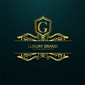 Ornamental luxury letter g logo Free Vector