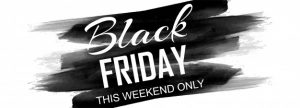 black friday poster banner sale promotion