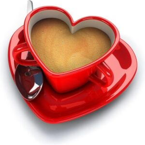3d heartshaped series of highdefinition picture love coffee