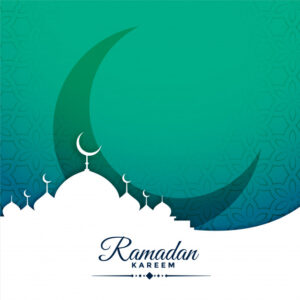 Festival card for ramadan kareem season Free Vector