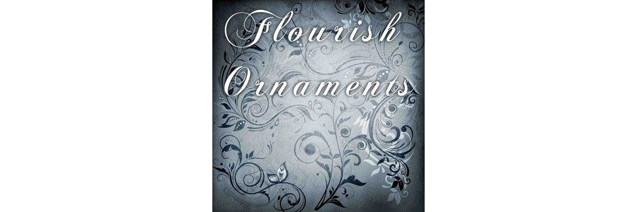 10 Flourish Ornaments Brushes