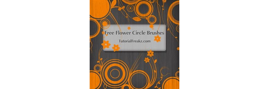 Flower Circle Brushes