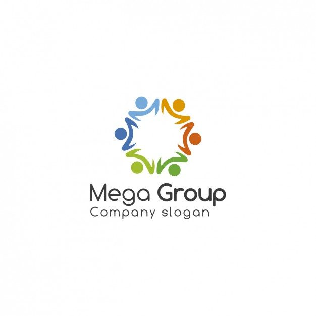 Group Logo Template Free Vector